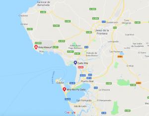 Kitesurf Rota, Conil, Chipiona, Sanlucar y Jerez
