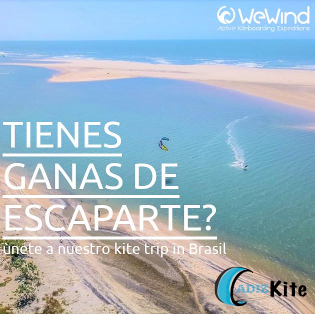 Kite trip Brasil