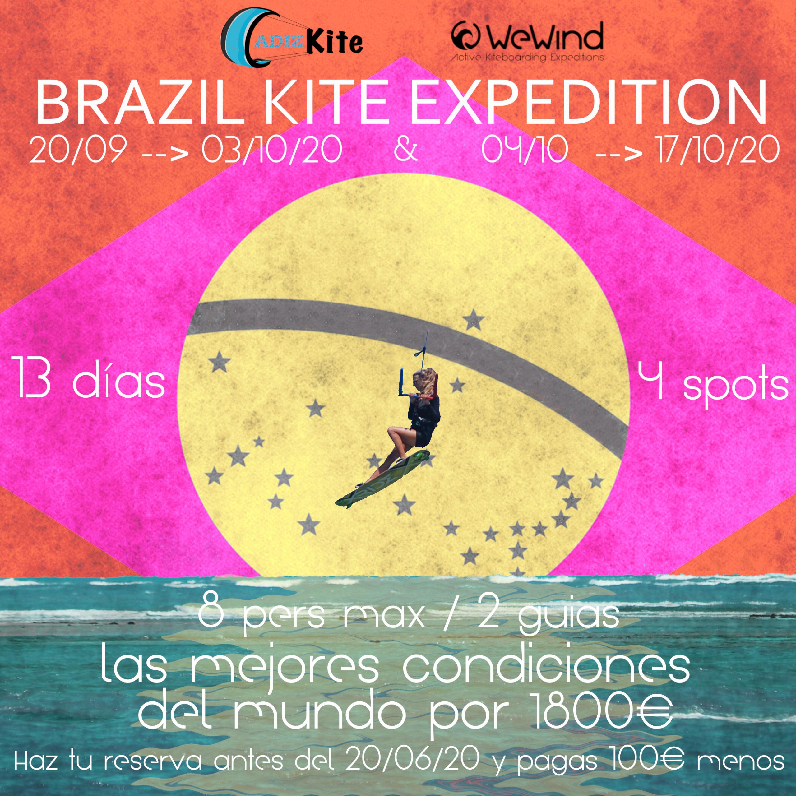 brasil kite trip